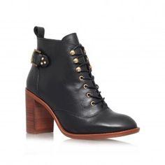 Kurt Geiger | SWEET Black High Heel Ankle Boots by KG Kurt Geiger