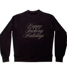 Happy Fucking Holidays. Available on atriumnyc.com and in NY store now.  (at Atrium NYC)