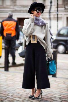 fashion, culottes, style