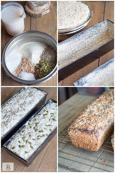 Bread Recipes, Baking Recipes, Snack Recipes, Dessert Recipes, Food Design, Design Design, Polish Recipes, Bread Baking, Food Hacks