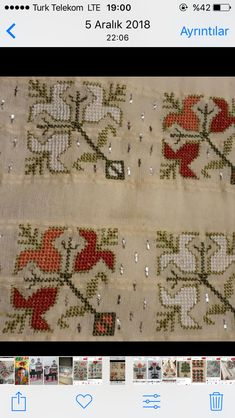 Christmas Embroidery Patterns, Embroidery Patterns Free, Pattern Design, Free Pattern, Diy And Crafts, Arts And Crafts, Hardanger Embroidery, Chain Stitch, Table Runners