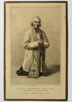 O Santo Cura d'Ars, São João Maria Vianney, patrono dos padres diocesanos e dos párocos.