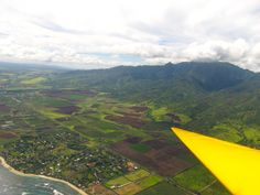 Gliding High Over Oahu