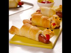 Silly Snake Hot Dogs recipe from Pillsbury.com