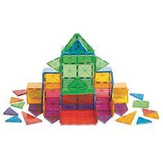 Magna-Tiles Clear Colors 100 pc Set
