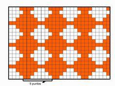 Funda para móvil o celular con la técnica del tapestry crochet (jacquard crochet) | Margarita Knitting