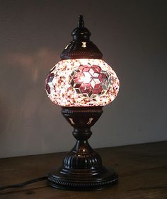 Unique Coffee Table, Coffee Tables, Turkish Lamps, Estilo Boho, Stained Glass, Table Lamp, House Design, Nail, Lights