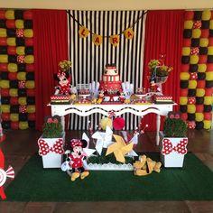 #festaminievermelha party house @festasinfantispelobrasil @encontrandoideias @dicaspaisefilhos