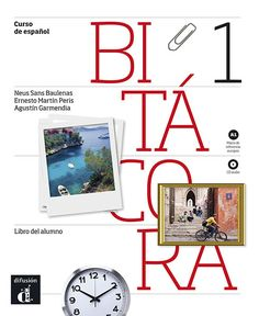 Bitácora - Manual de español lengua extranjera A1-B2 -ed. DIFUSIÓN. ¡Me gusta el diseño (tipo de papel, tipografía...) y los contenidos!