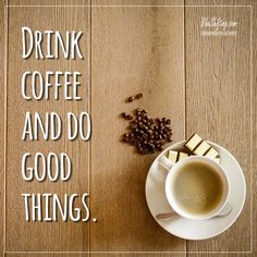 "Today's ""to do"" list! #coffee"