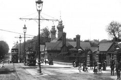 1905 Glasgow Botanic Gardens at Great Western Road - Byres Road