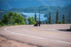 Victory claim class victories at Pikes Peak. Soichiro Honda, Motorcycle News, Pikes Peak, Road Racing, Victorious, Climbing, Country Roads, Clouds, Third