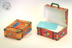 DIY Paper Gift Box / Favor Box Colorful Mini by SkyGoodies