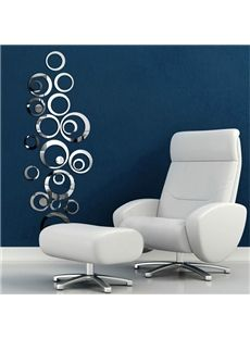 Hot Selling Unique Creative Crystal Mirror Circular DIY 3D Wall Sticker #home #decor #wall #art #interior