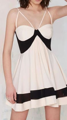 Nasty Gal Party On Fit & Flare Dress