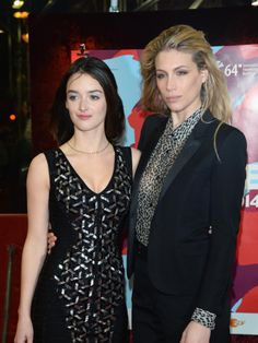Marie de Villepin & Charlotte LeBon - Berlin Film Festival - February 2014
