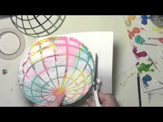 Watch Using a Gelli Plate and Stencils to Make a Colorful World on YouTube.