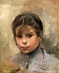 Ramon Casas (1866 – 1932,Spanish)  Nina