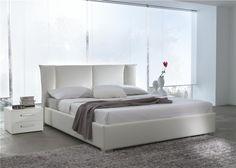 Hasena Oasi Mico Caprino Genuine Leather Bed - Head2Bed UK