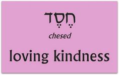 Chesed - Enduring Love - Psalm 118