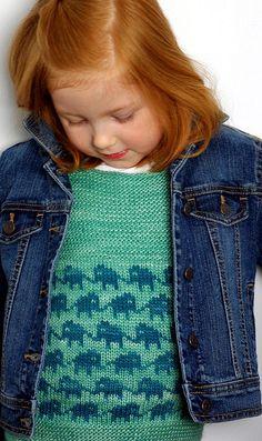 knitted elephant dress
