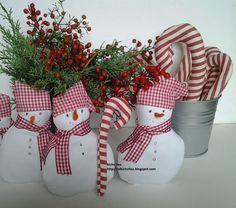 Decorazioni per l'albero di Natale. http://elbichofeo.blogspot.com https://www.facebook.com/Bicho-feo-382736388432736/