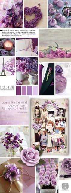 Does the colour purple remind you of your loved one? Create a unique and memorable funeral ceremony using purple.  See our Personalised Photo Memorial Collage Board template in this theme now at: http://xomemories.com/product/lilac-rose/   or explore our gallery for other ideas. #purple #ceremony #xo #memories