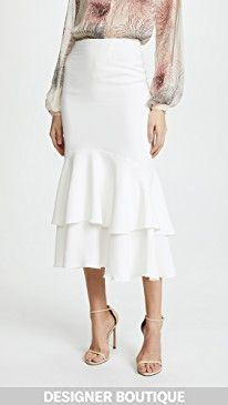 New Giambattista Valli Tiered Skirt online. Find the perfect Ulla Johnson Clothing from top store. Sku hzna22689gykz55777