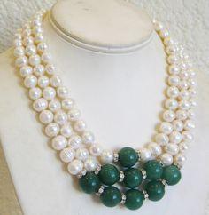 collares de perlas largos paso a paso , Buscar con Google