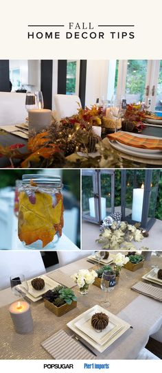 Bring the colors and textures of the outside in this Fall! Here are 4 easy ways to pull it off.