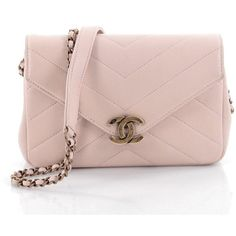 Chanel Coco Envelope Flap Bag Chevron Leather Mini ($2,060) ❤ liked on Polyvore featuring bags, handbags, shoulder bags, pink shoulder bag, real leather purses, chanel shoulder bag, mini purse and pink leather handbags
