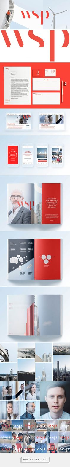Brand New: Follow-up: New Logo and Identity for WSP by Sid Lee... - a grouped images picture - Pin Them All