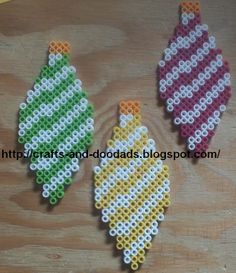bead pattern, christmas crafts, bead christma, christmas decorations, ornament christma