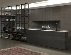 Blade | Modern Kerlite Kitchens Modulnova - Composition 1