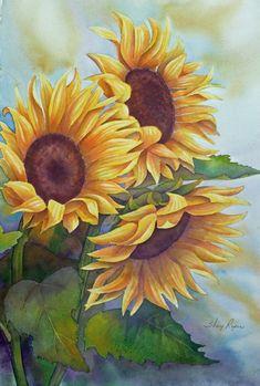 Beautiful Flowers by Art <3