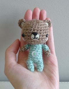 Pattern: Baby P.J. Teddy | All About Ami Free amigurumi pattern