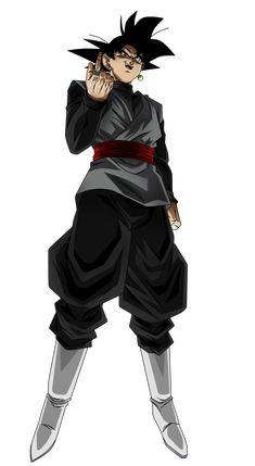 Black Goku by Koku78