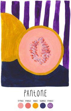 Contemporary Color by Pantone Colour Pallette, Colour Schemes, Color Patterns, Guache, Simple Illustration, Design Graphique, Color Stories, Color Theory, Pantone Color