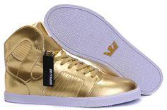 Supra Pilot Shoes Gold