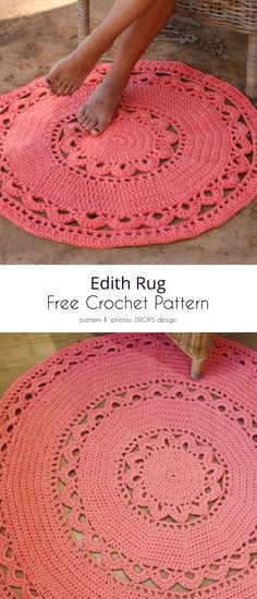 Bag Crochet, Crochet Shirt, Crochet Doilies, Free Crochet, Crotchet, Crochet Home Decor, Crochet Crafts, Crochet Projects, Crochet Ideas