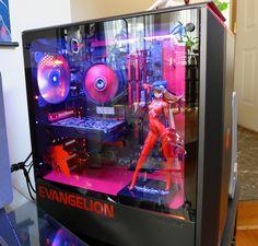 anyone here ever put toys/figures inside their PC case? | ResetEra Inside Pc, Inside Games, Custom Funko, Custom Pc, Pc Setup, Desk Setup, Custom Computer Case, Best Gaming Setup, Cool Room Decor