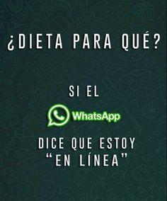 La dieta del WhatsApp