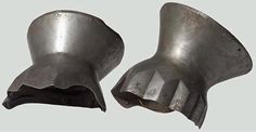 Hourglass Gauntlets, 1380 ref_arm_4852 Sold at an auction house