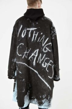 nothing changes - anti-fashion manifesto