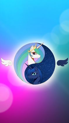 Princess Luna and princess Celestia