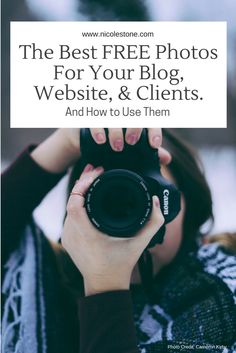 The Best FREE Photos for Your Blog, Website, & Clients. The best online locations for royalty free stock photos.  These photos will make your blog beautiful and professional looking without paying a dime.  Check them out here!