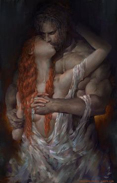 The Stranger's Kiss by Indiron on DeviantArt