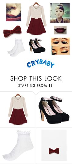 """""""✗ Cake (Melanie Martinez) ✗ ©"""" by khodionna ❤ liked on Polyvore featuring River Island and Zara"""