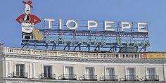 """Cuadernos de derecho Penal Enrique Antonio Schlegel: Anuncio """"Tío Pepe"""" en la Puerta del Sol en Madrid"""