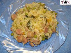 Arroz de Salsichas com Ervilhas